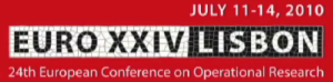 EURO XXVI LISBON: 24th European Conference on Operational Research
