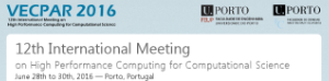VECPAR 2016 - 12th International Meeting on High Performance Computing for Computational Science