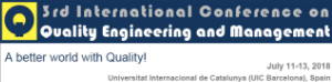 ICQEM 2018 – 3rd International Conference on Quality Engineering and Management
